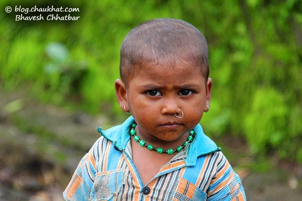 Tribal child