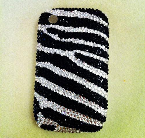 Inspiração zebra - capinha de celular
