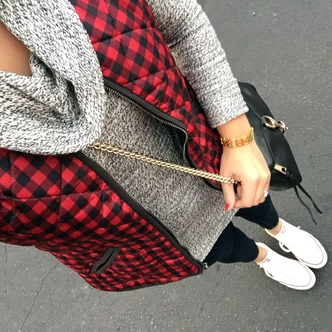 plaid vest, how to wear converses, fall fashion