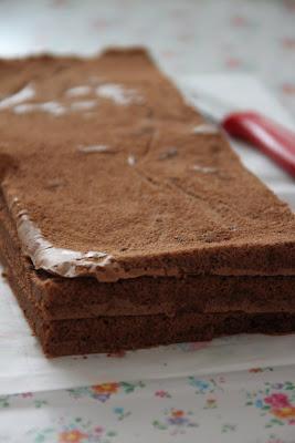Шоколадный торт с взбитыми сливками (без муки)