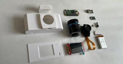 RUHAcam, una fotocamera digitale gestita da Raspberry Pi che puoi stampare in 3D