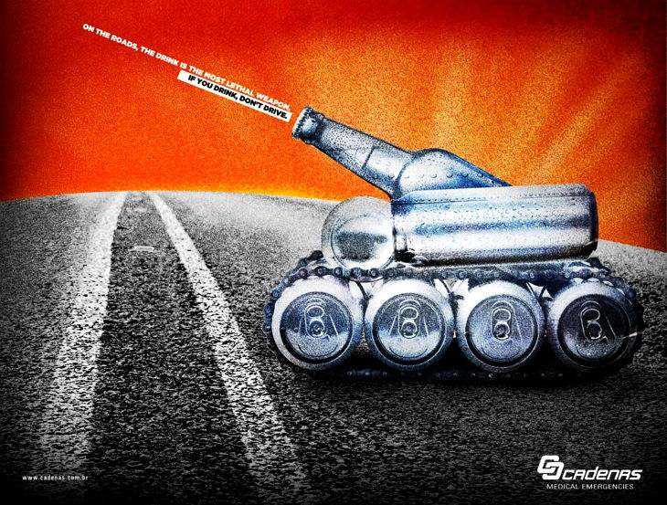 Anti-drink Tank