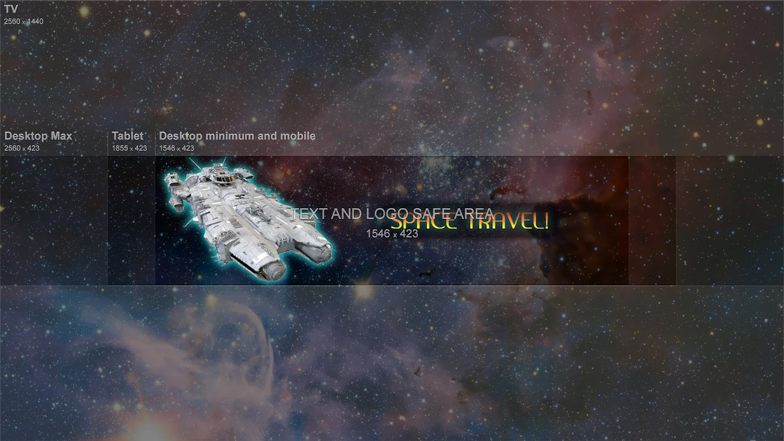 Channel Art Cropping My Whole Banner Into The Safe Area