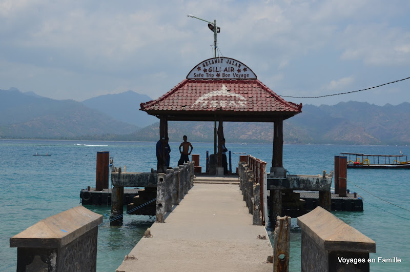 Gili air harbour