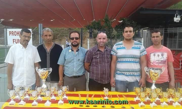 اقبال كبير على الدوري الكروي الرمضاني المنظم من طرف تنسيقية الجمعيات المغربية بطراسة وفوز فريق