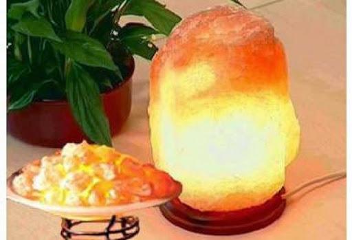 Польза соляной лампы