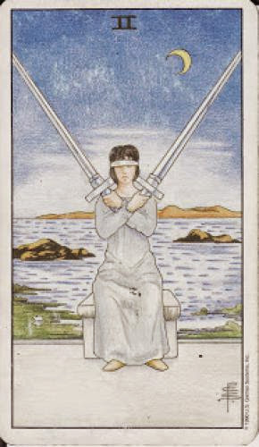 2 Two Of Swords Ii