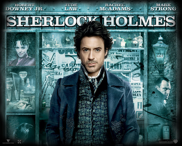 poster Sherlock Holmes 3