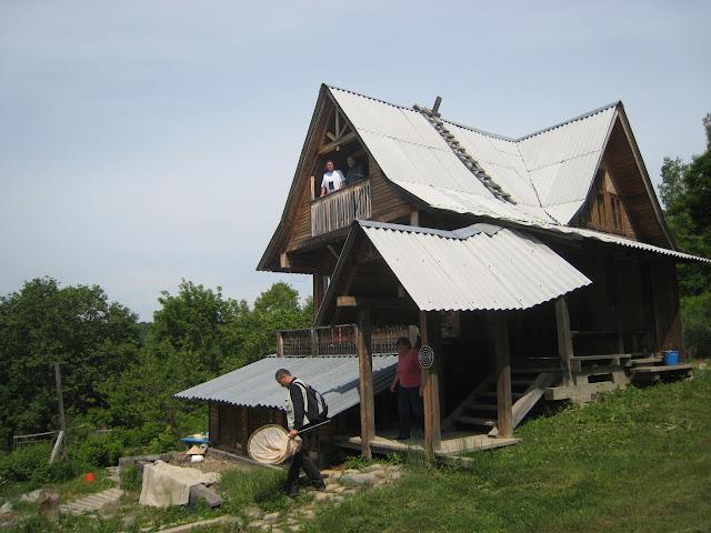 L'hébergement à Tigrovoy, 21 juin 2011. Photo : G. Charet
