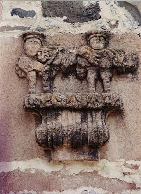 Músicos barrocos. Arte tequitqui. Siglo XVIII. Capilla de San Vicente de Paul. Zacoalco de Torres. Foto: Miguel Ángel Barragán.