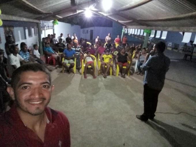 Dácio Alves: mesmo sem recursos faz sua campanha por todo Maranhão.