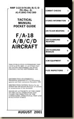 F-18 Tactical Pocket Guide