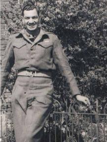 Ernest Briggs in 1945
