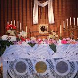 Altare della deposizione negli anni