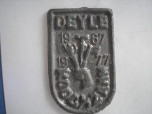 Naam Deyle jaartal 1977 plaats Koog aan de Zaan.JPG