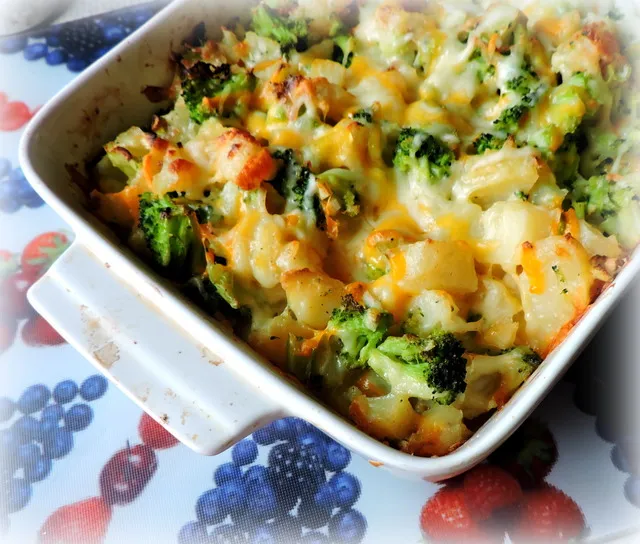 Broccoli Potato Casserole