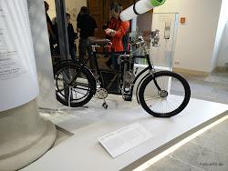 Laurin & Klement Motorrad im Verkehrsmuseum in Dresden
