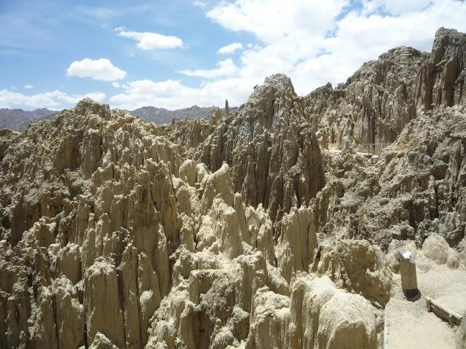 Fotos del Valle de la Luna en La Paz, Bolivia