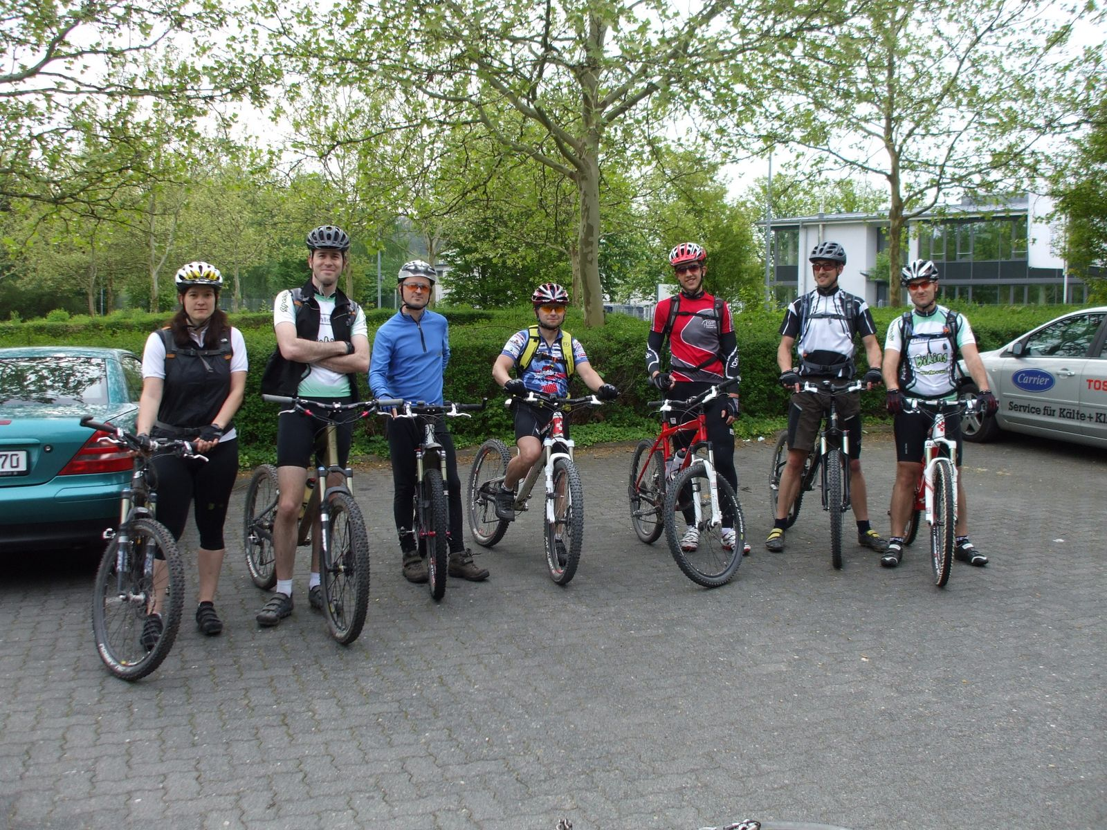 Spessart-Biker Tour am 02.05.2010