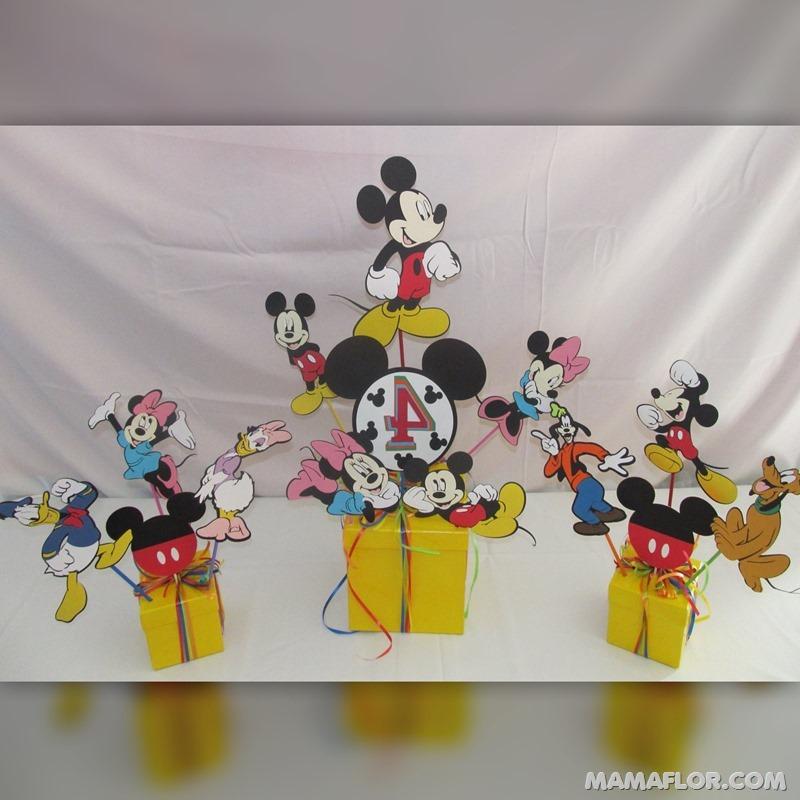 centro de mesa mickey y minnie mouse --- (9)
