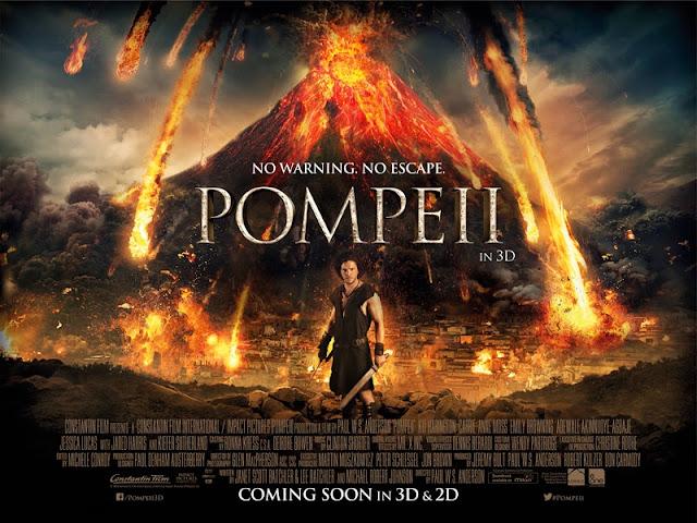 Φωτιά Πάνω Από Την Πομπηία Pompeii Wallpaper