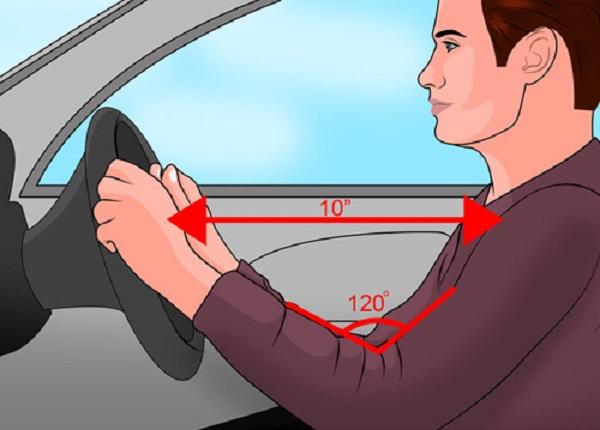 Tư thế lái xe đúng dành cho tài xế