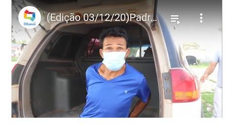 Padrasto é preso suspeito de abusar sexualmente de duas crianças em Vitorino Freire; mãe também foi presa