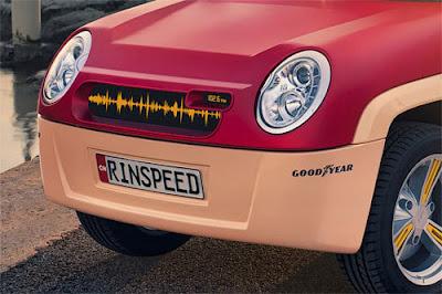Пляжный электромобиль Rinspeed BamBoo из бамбука