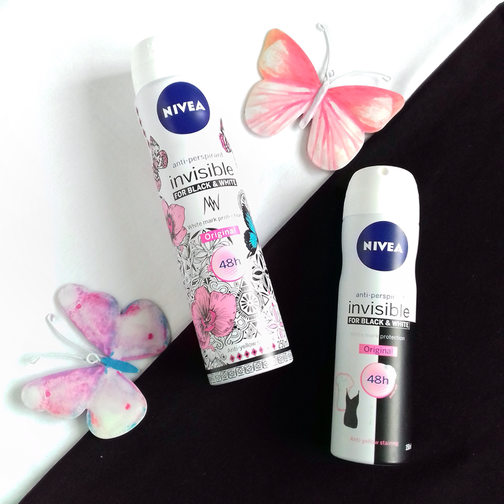 Nivea Invisible Back & White Deoderant