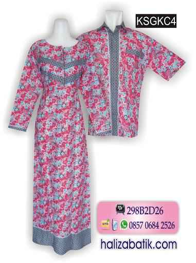 batik murah, busana batik, model baju batik sarimbit