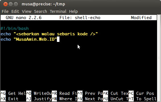 shell script Shell Script di Linux
