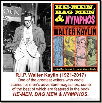 RIP Walter Kaylin