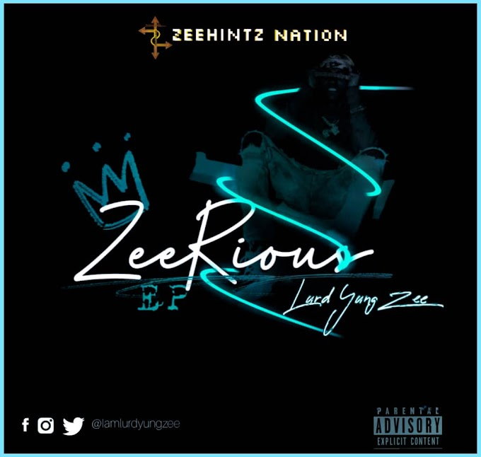 """Afro Pop Act """"Lurd Yung Zee"""" Teases Artwork For Forthcoming EP """"Zeerious"""""""