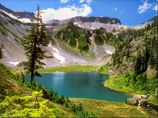 Bagley Lake, Mount Baker Wilderness, Washington.jpg