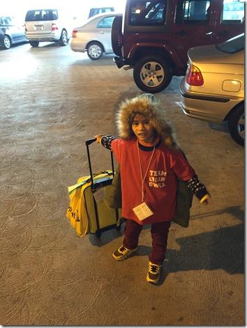 Airport departures 2