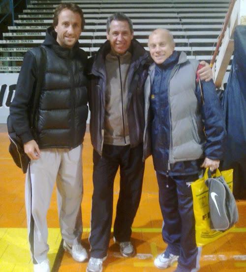 basketbol en Necochea campus de invierno