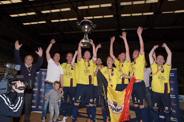 Synergie Merelbeke winnaar Beker van België minivoetbal 2014-2015