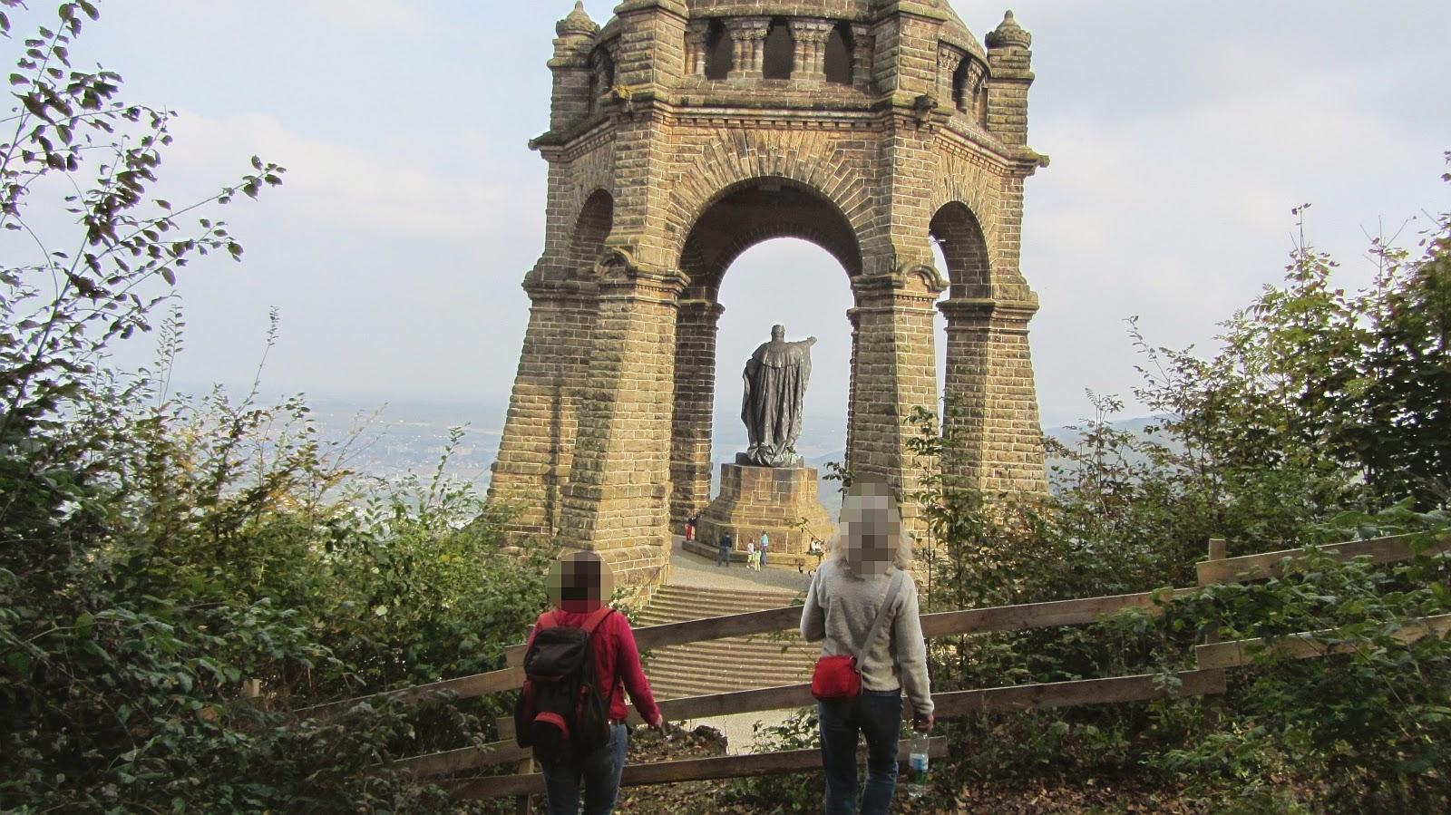 Wanderung Porta Westfalica am 13. März