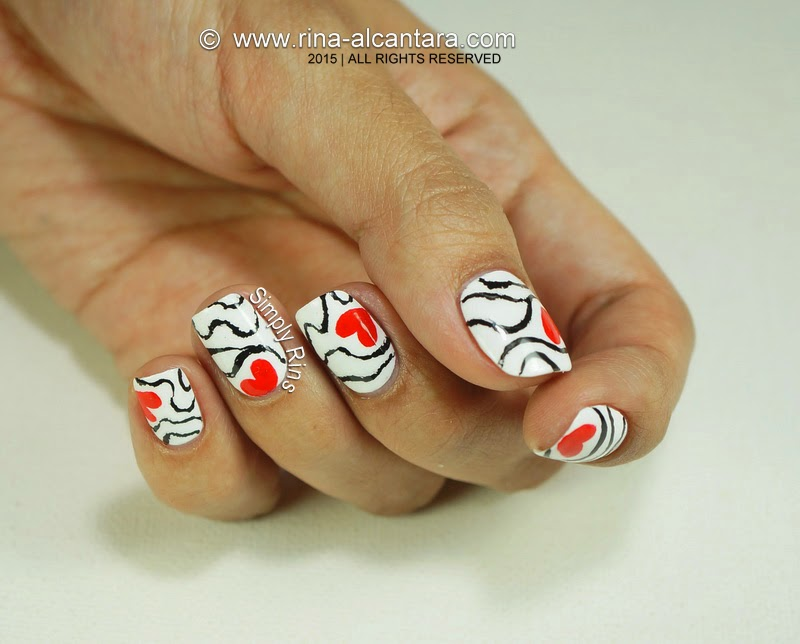 Nail Art: Accidental Love