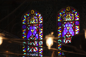 Photo: Day 110 - Stained Window in the Blue Mosque