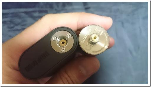DSC 1620 thumb%25255B3%25255D - 【MOD】お手軽格安BF MOD「Kangertech Dripbox Starter Kit」レビュー!BF始めたい人にはうってつけのモデルでプチメカニカル気分