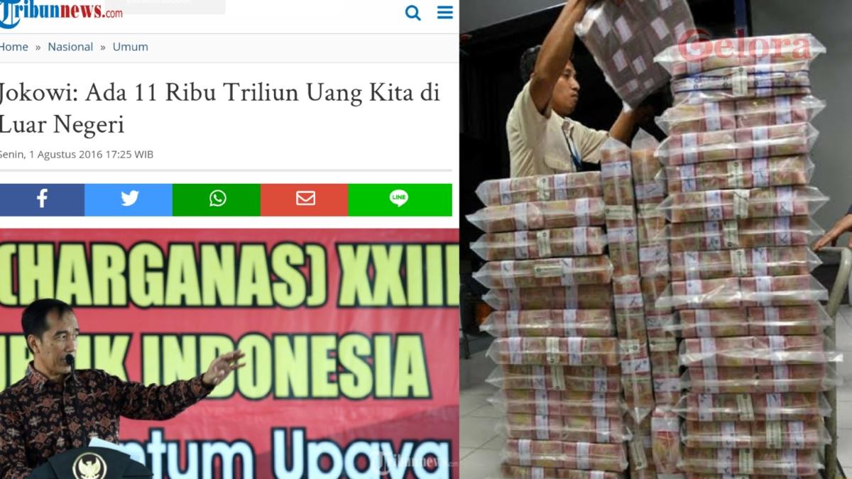 Untuk Selamatkan APBN dan Bayar Utang, Salamuddin: Sita Rp11 Trilun yang Disimpan di Luar Negeri