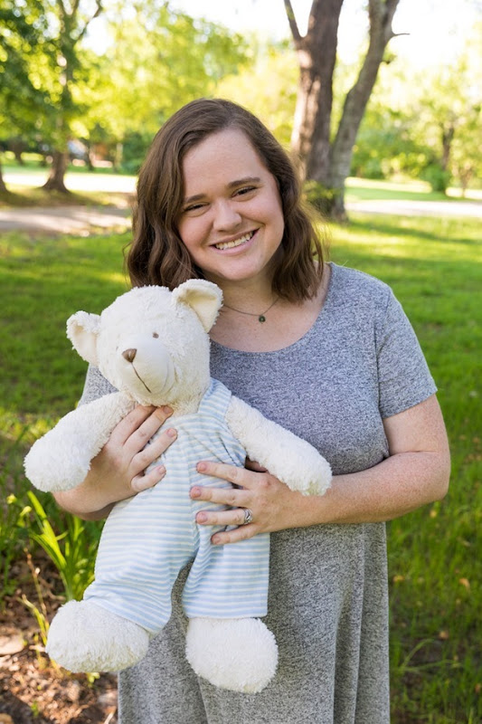 Megan Whitworth from Rowan's Bear - For Grieving Mothers and Fathers