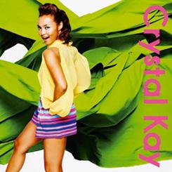 Crystal Kay - Delicious na kinyoubi / Haru arashi | デリシャスな金曜日 / ハルアラシ [CD + DVD] | Single art