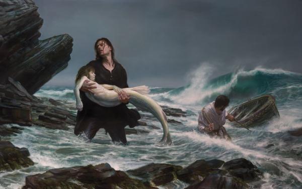 Beautiful Undine Lady, Mermaids
