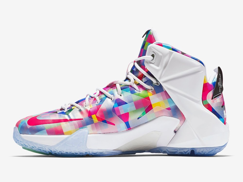 """LeBron 12 EXT """"Fruity Pebbles"""" Official Look & Release ..."""