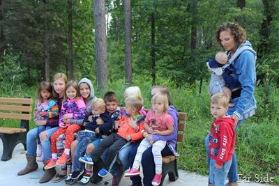 12 kids to the refuge