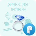 Sparkling Jewerly Theme icon