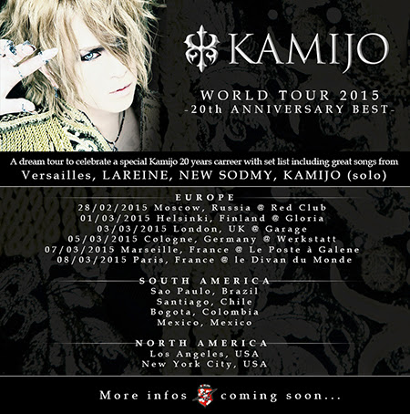 [Noticia] KAMIJO anuncia World Tour | J-Music: Noticias y Discografias Completas Para Descargar Por MEGA
