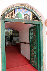Main door of the tomb